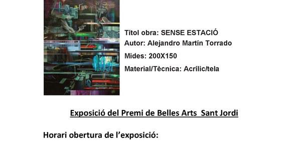 11a Edició del Premi de Belles Arts Sant Jordi dels Països Catalans a Torrefarrera