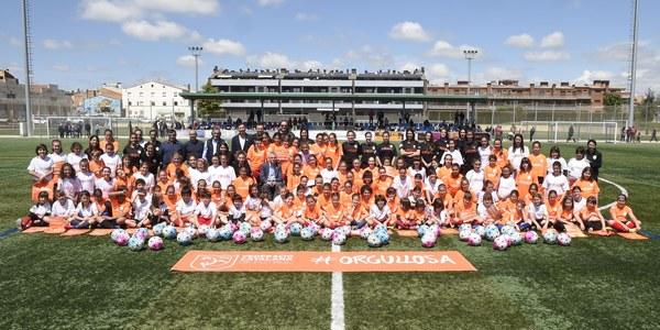 130 jugadores participen en la 6a Jornada de Futbol Femení celebrada a Torrefarrera