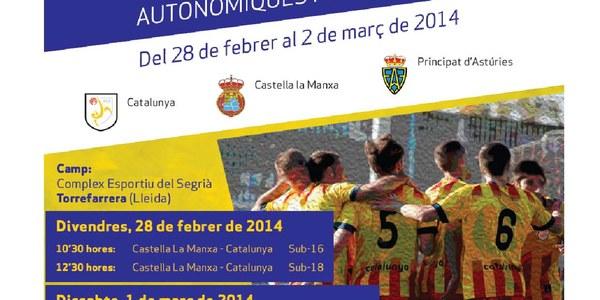 2a. Fase. V Campionat Nacional seleccions autonómiques masculines Sub-16 i Sub-18