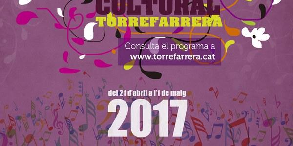 Programa de la 30a. Setmana Cultural Torrefarrera