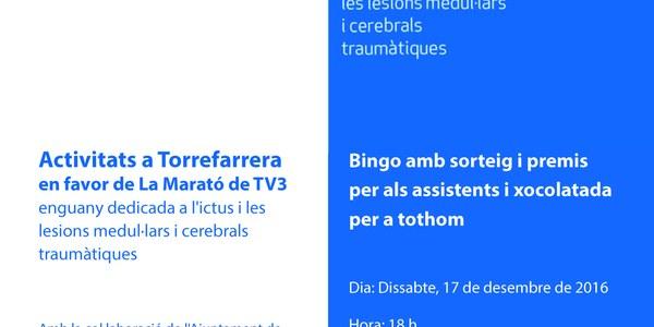 Activitats en favor de La Marató de TV3