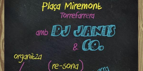 "Aquest diumenge vine al ""Vermut a la Plaça"" del Re-sona"
