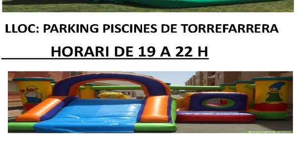 Aquest divendres activitats infantils al parking de les piscines