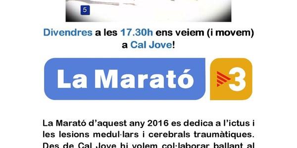 Ballada a Cal Jove el Flashmob de la Marató!