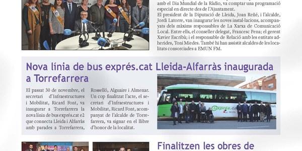 Butlletí informatiu nº 7 Ajuntament de Torrefarrera