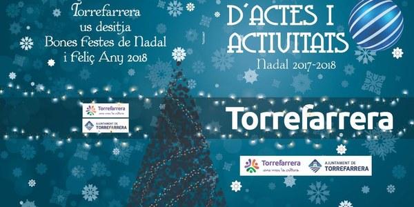 Calendari d'actes i activitats Nadal 2017-2018