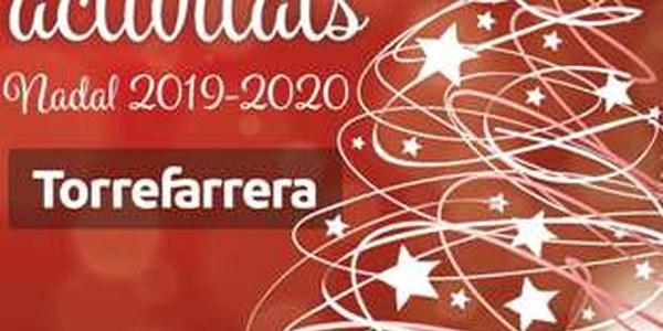 Calendari d'actes i activitats Nadal 2019-2020 Torrefarrera