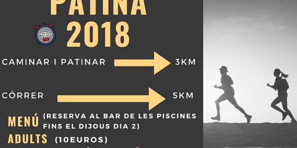 Camina, corre o patina 2018