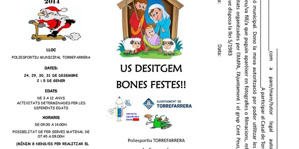 Casal de Nadal Torrefarrera 2014