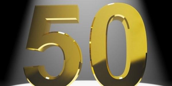 Celebració del 50é aniversari de casament i homenatge als 80 anys.
