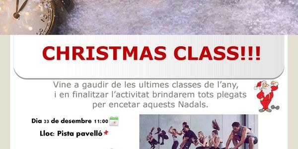 Christmas Class: últimes classes de l'any al pavelló poliesportiu