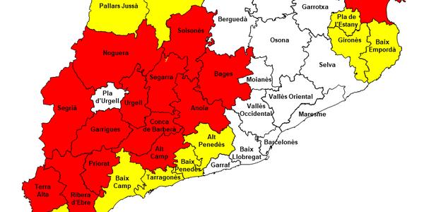Comunicat del nivell de Pla Alfa de la Generalitat