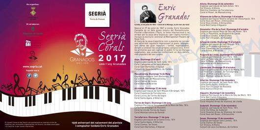 Concert del cicle Segrià Corals 2017 amb l'any Granados a Torrefarrera