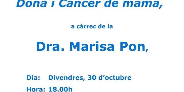 "Conferència ""Dona i Càncer de mama"""