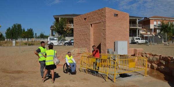 Darrers treballs per enllestir el tanc de tempesta de Torrefarrera que evitarà inundacions a la part baixa del municipi