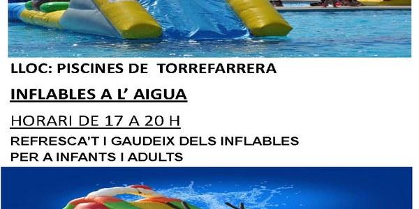 Demà dimarts a les piscines municipals de Torrefarrera Activitats aquàtiques