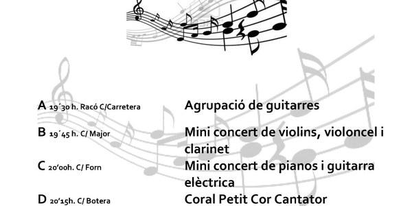 """Dia de la música a Torrefarrera """"Racons musicals"""""""