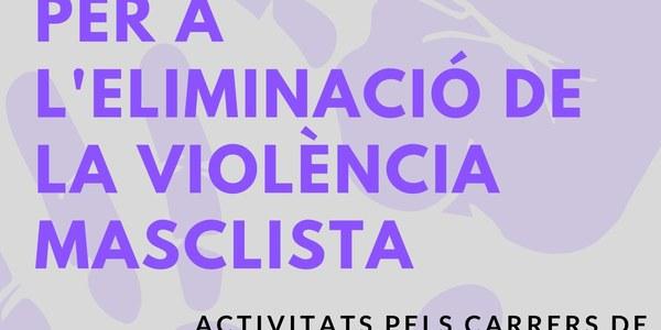 Dia internacional per a l'eliminació de la violènica masclista