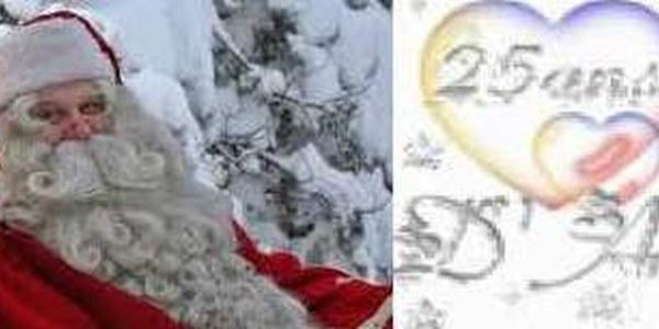 Dissabte 24, Cercavila del Pare Noel, Missa de Gall i Noces d'Argent