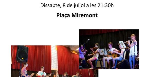 Dissabte 8 de juliol, nits d'estiu a Torrefarrera amb concert d'agrupacions