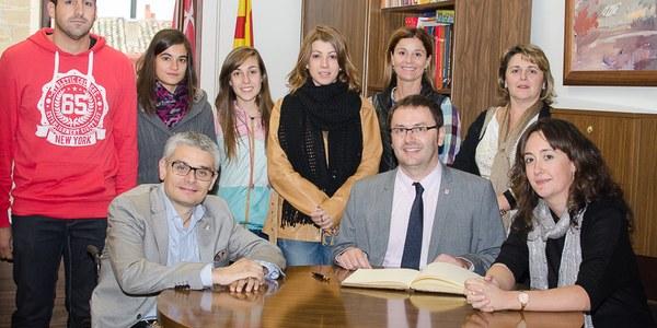 El director general de Joventut visita Torrefarrera per conèixer el projecte del nou centre juvenil de la localitat