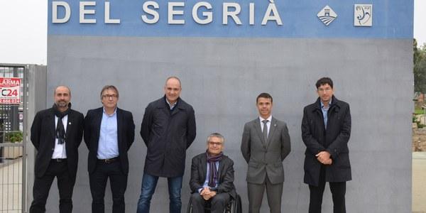 El secretari general de l'Esport visita el Complex Esportiu de Torrefarrera