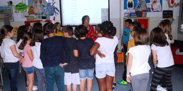 Els alumnes de 4art de l'Escola Pinyana d'Alfarràs guanyen del 1er Concurs de Lectura en Veu Alta d'EMUN FM Ràdio.