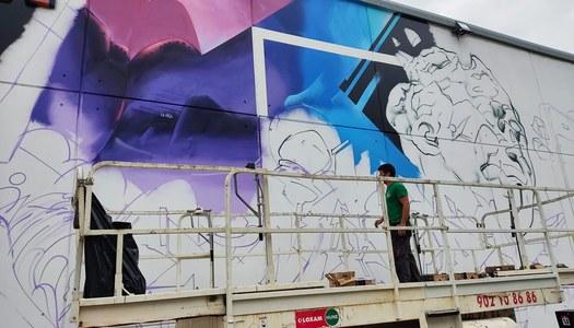 En marxa el 5è; Torrefarrera Street Art Festival