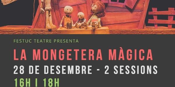 """Espectacle infantil. """"La mongetera màgica"""""""