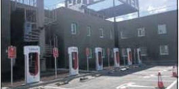 Estació de càrrega per als cotxes elèctrics