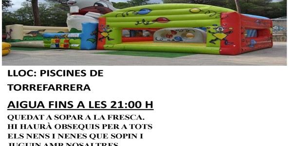 Festa dels Infants a la Fresca, demà divendres a les piscines de Torrefarrera
