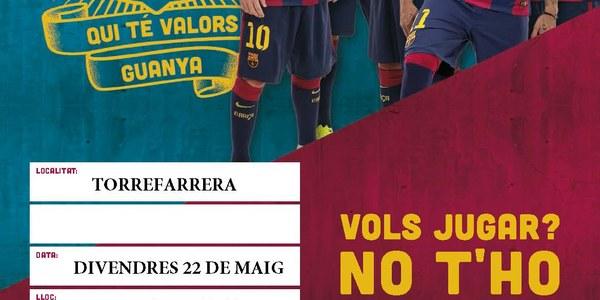 Festa FutbolNet de Torrefarrera, avui a la plaça l'Amistat