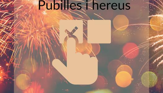 Festa Major 2021 Torrefarrera. Votació popular de Pubilles i Hereus