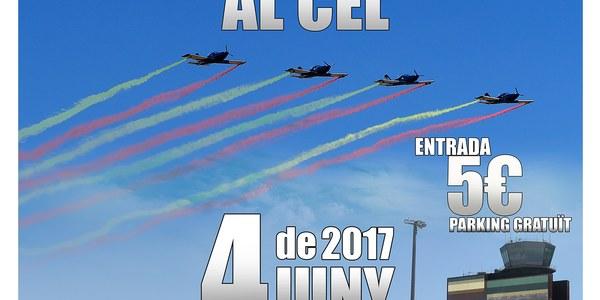 """Festival al Cel """"Lleida air Challenge"""", el proper 4 de juny a l'aeroport Lleida-Alguiare"""