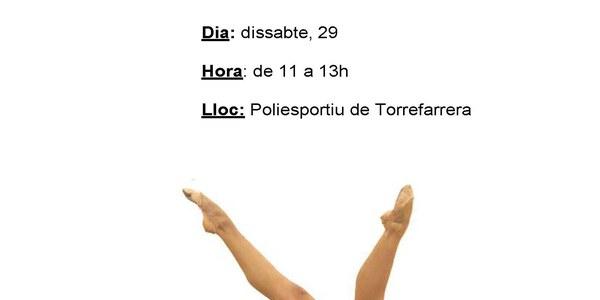 Gimnàstica Rítmica . Campionat de Catalunya en edat escolar