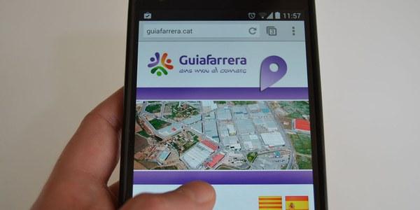 Guiafarrera: nova web mòbil per promocionar tota l'oferta comercial, d'oci i serveis de Torrefarrera