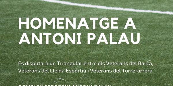 Homenatge a Antoni Palau