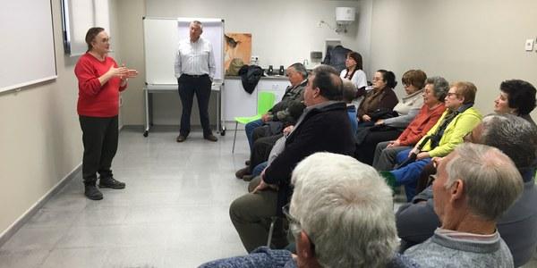 Inici del Programa Pacient Expert al consultori local de Torrefarrera amb un grup sobre anticoagulants orals