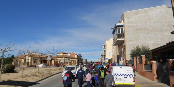 IV Caminada Popular de Torrefarrera a Malpartit amb 140 participants