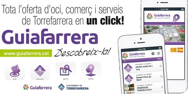 Jornada de formació de GuiaFarrera, la web mòbil de promoció comercial de Torrefarrera