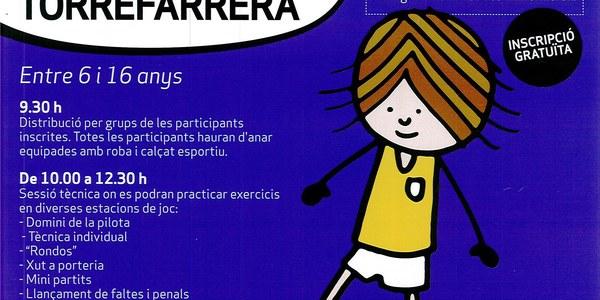 Jornada de Futbol Femení aquest diumenge a Torrefarrera