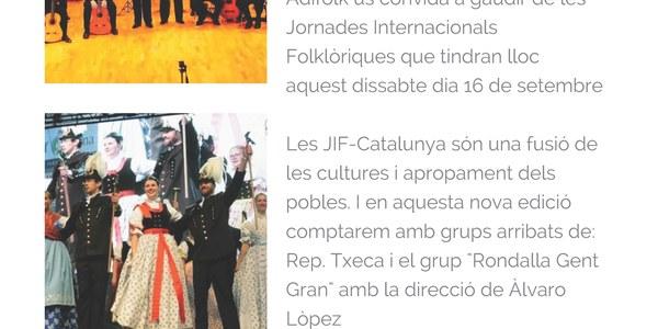 Jornades internacionals Folklòriques de Catalunya