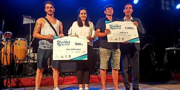 Juanjo Surace i Bastian, guanyadors del 2n Torrefarrera Street Art Festival