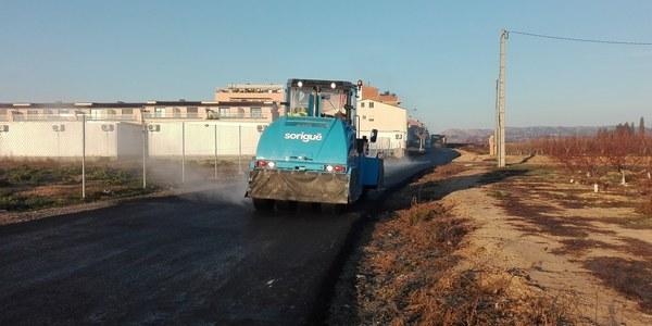 L'Ajuntament de Torrefarrera arranja el camí de Torre-serona