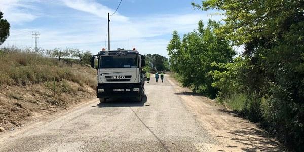 L'Ajuntament de Torrefarrera arranja el camí vell de Rosselló