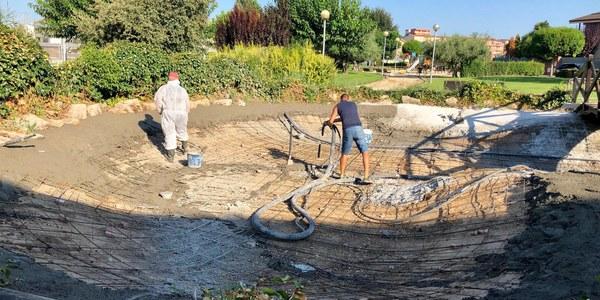L'Ajuntament de Torrefarrera arranja la bassa del Parc