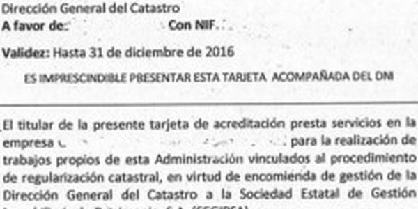 La Direcció General del Cadastre duu a terme la regularització cadastral del municipi de Torrefarrera