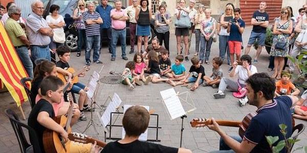 La música torna a omplir els carrers de la localitat en una nova edició dels Racons musicals