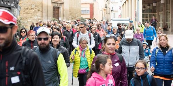 La VIII Caminada Popular de Torrefarrera a Malpartit bat el rècord d'assistència amb 220 participants