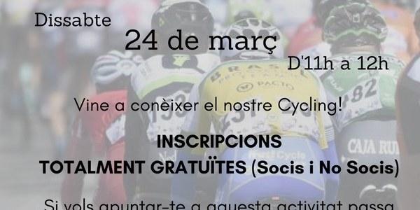 Masterclass de Ciclisme a càrrec de Waps